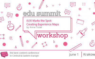(U)X Marks the Spot: Creating Experience Maps – Workshop by Anna Tutak