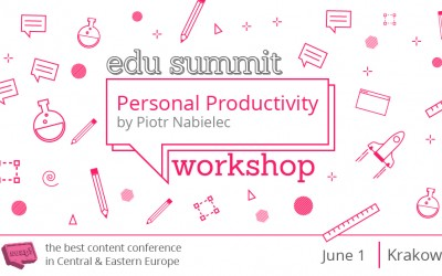 Personal Productivity Workshop by Produktywni.pl