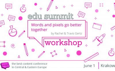 Words And Pixels Go Better Together – Workshop by Rachel and Travis Gertz