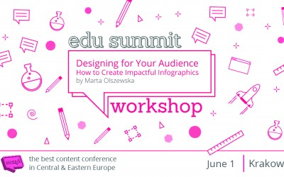 Designing for Your Audience – How to Create Impactful Infographics – Workshop by Marta Olszewska